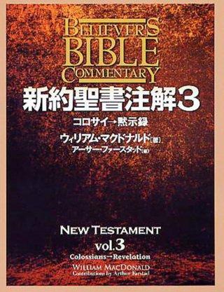 新約聖書注解 第3巻