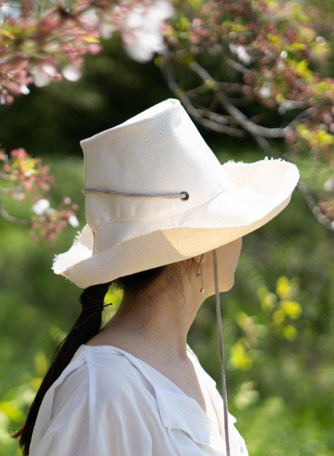 Haut  :コットン夏帽子 [受注生産]