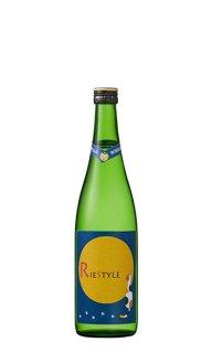 RIE STYLE(リエスタイル) 山廃特別純米酒 月見猫ラベル 720ml