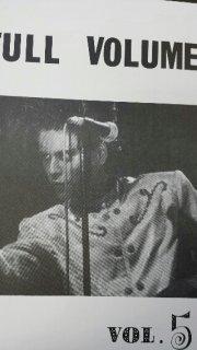 BUCK-TICK 「FULL VOLUME VOL.5」 初のファンクラブ会報 / 1986年からの貴重な写真、データなど収録