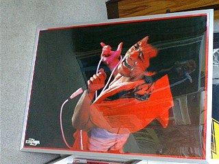 矢沢永吉 「The Rock 1980 日本武道館ライブ」 ポスター