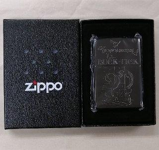 BUCK-TICK ZIPPOライター 「THE DAY IN QUESTION 2005」 未開封 / 限定200 シリアルナンバー入り