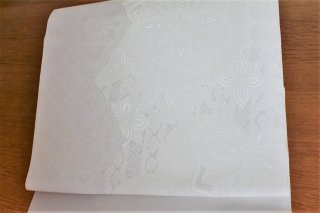 ホワイトバランス地紋名古屋帯    Fujiya Style
