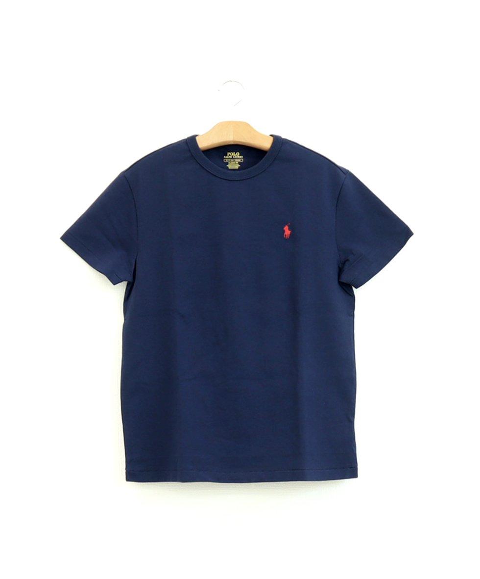 POLO RALPH LAUREN/ クラシック フィット ジャージー Tシャツ[NAVY]