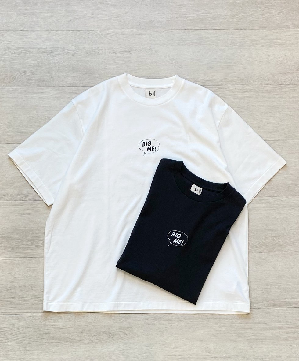 blurhms/ブラームス  BIG ME Tシャツ