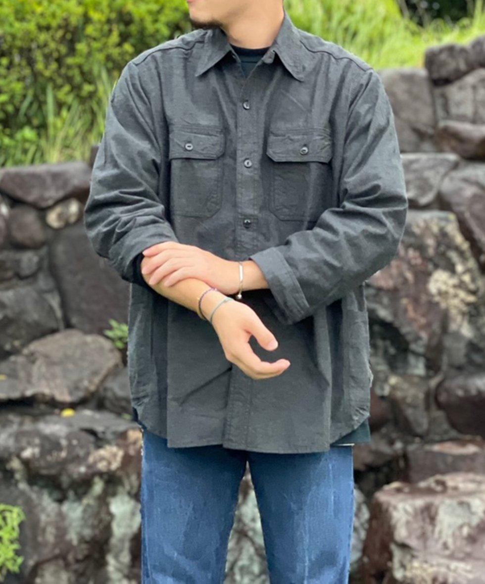 SASSAFRAS/  Gardener Shirt(6oz Chambray)