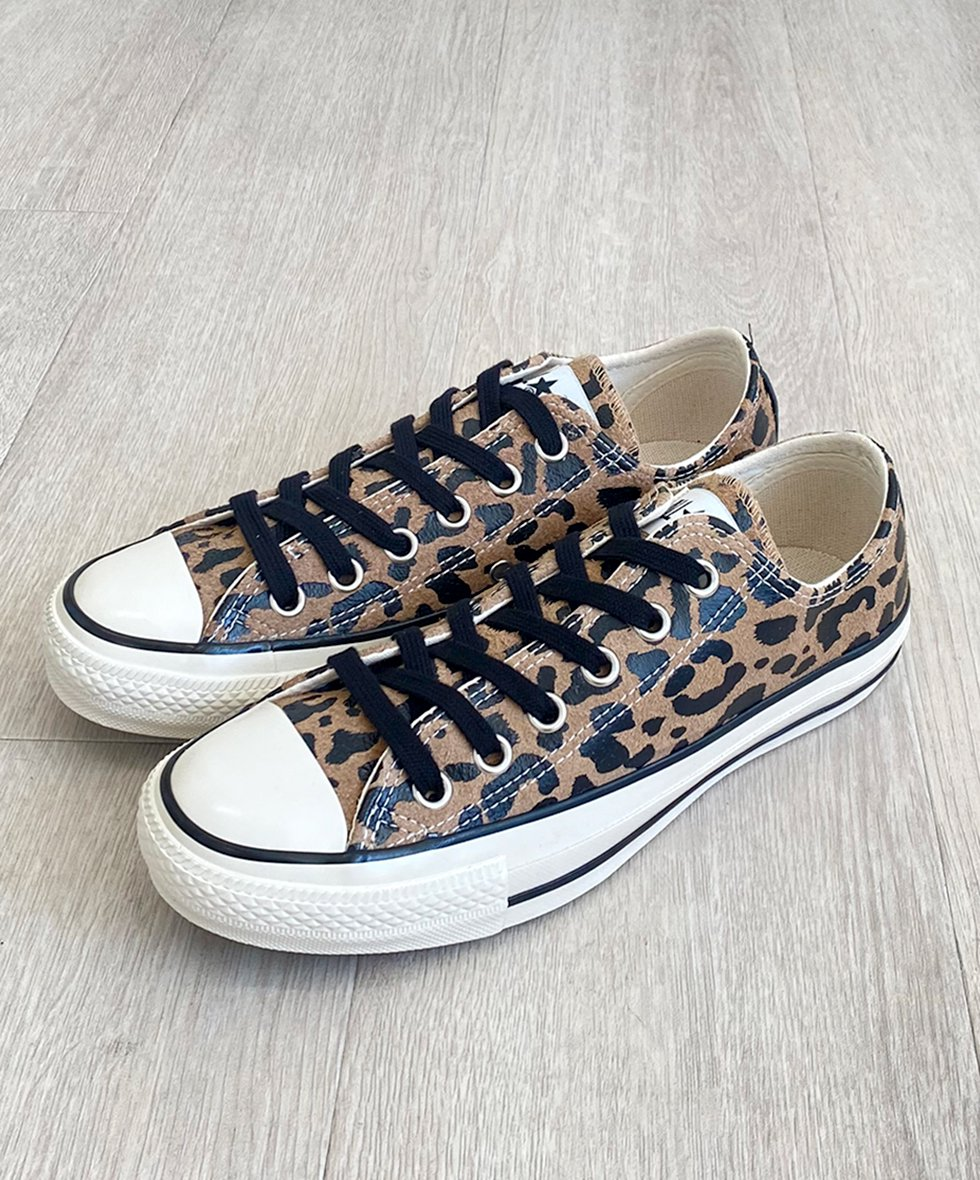 SUEDE ALL STAR US LEOPARD OX