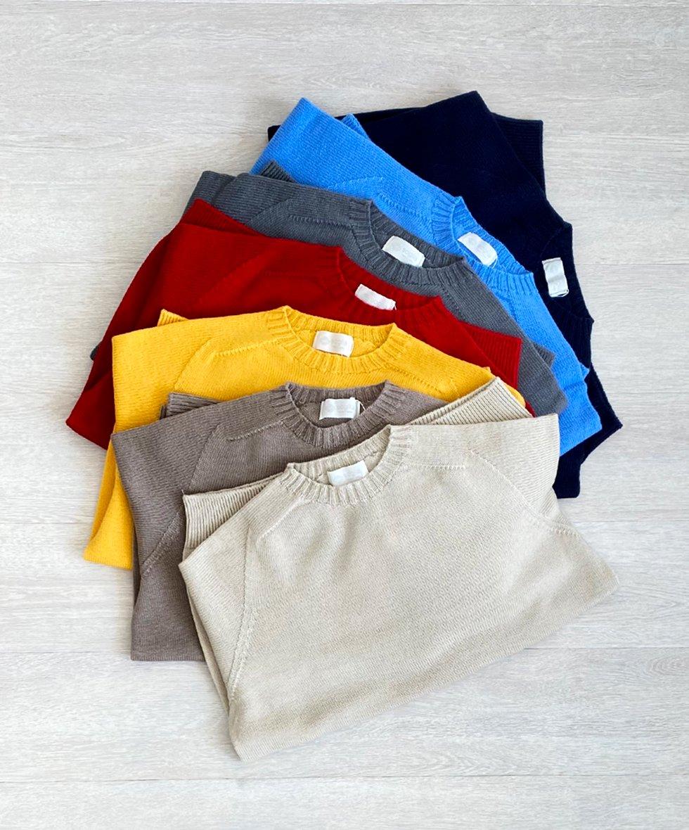 soglia/  WEANERS Seamless Sweater