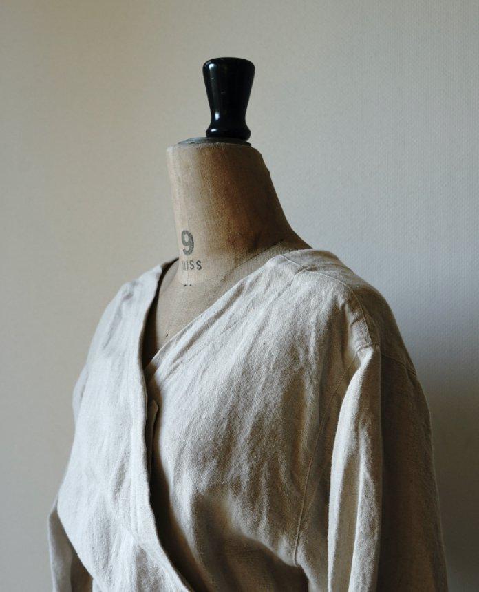 kapoc 2nd. / linen garment dye