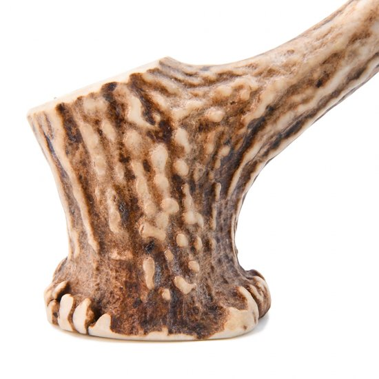 北海道福島町産蝦夷鹿の角 × 平井木工挽物所 鹿角ペン立て