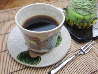 志野椿コーヒーカップ