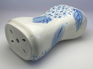 陶枕(あじさい)
