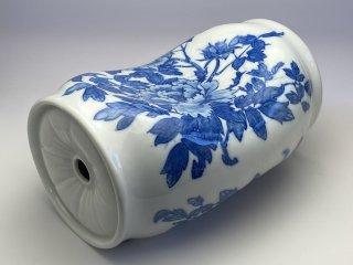 陶枕厚型(牡丹)