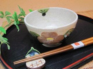 志野椿ご飯茶碗