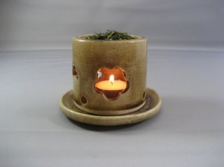 茶香炉(黄瀬戸)