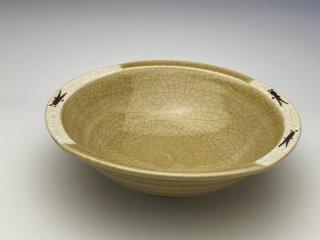 黄瀬戸小鉢(メダカ)