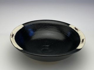 黒織部小鉢(メダカ)