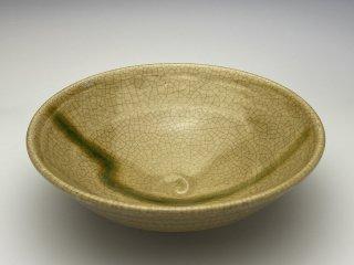 黄瀬戸小鉢(稲妻)