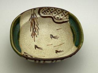 織部千鳥豆鉢