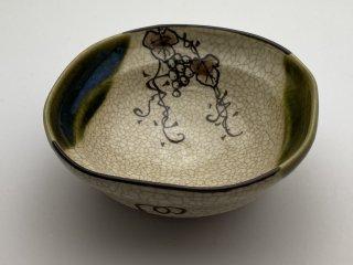 織部ぶどう豆鉢