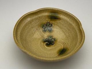 黄瀬戸小鉢(桜)