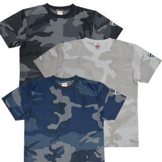カモフラージュ柄 Tシャツ
