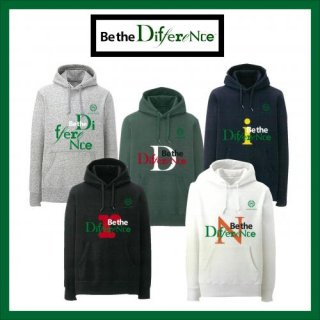 Be the Differenceパーカー