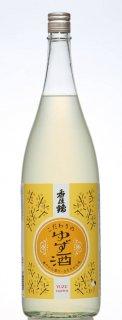 香住鶴 ゆず酒/1.8L