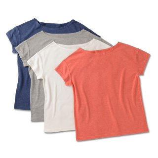 <img class='new_mark_img1' src='https://img.shop-pro.jp/img/new/icons31.gif' style='border:none;display:inline;margin:0px;padding:0px;width:auto;' />竹布 ★ ひとつぼし 半袖Tシャツ 女性用 TAKEFU-ナファ生活研究所