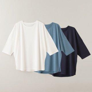 <img class='new_mark_img1' src='https://img.shop-pro.jp/img/new/icons31.gif' style='border:none;display:inline;margin:0px;padding:0px;width:auto;' />竹布 ドルマンスリーブTシャツ  TAKEFU-ナファ生活研究所 メール便 送料無料