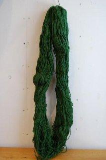 絨毯用羊毛緑色綛300g KG-2-�
