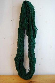 絨毯用羊毛緑色綛250g KG-1-�