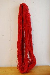 絨毯用羊毛赤色綛220g KR-2-�