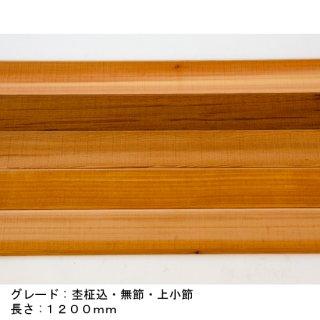 米杉(ウェスタンレッドシダー)T&Gパネルサイディング グレード:杢柾込・無節上小節込・無塗装 長さ:1200mm 束:12枚入(1.94�)送料無料