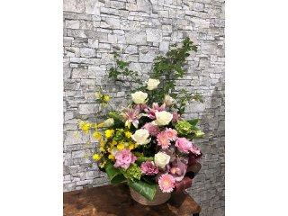 Lily pink arrangement