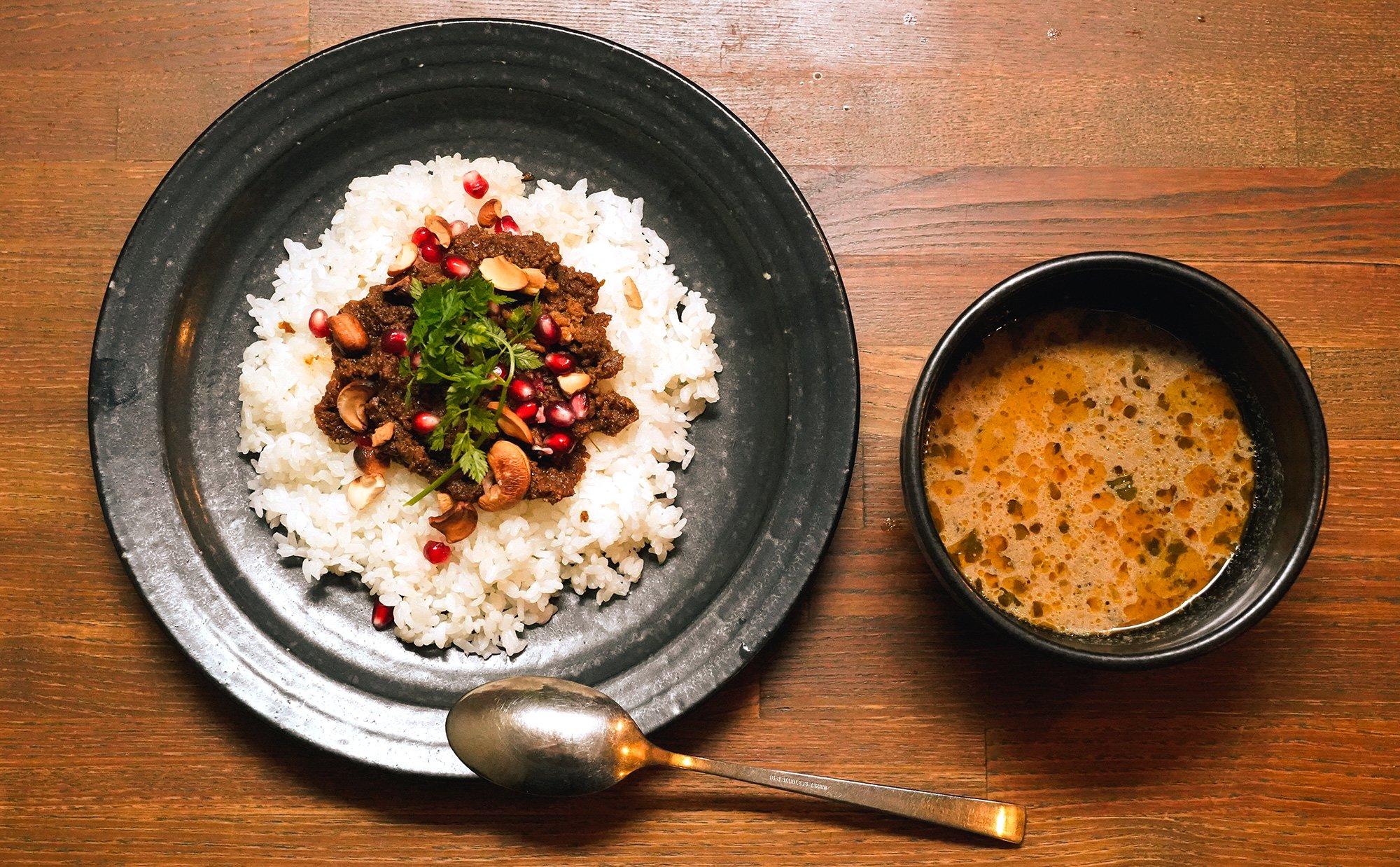 Gharきのこと牛肉のカレー 1個から購入可能