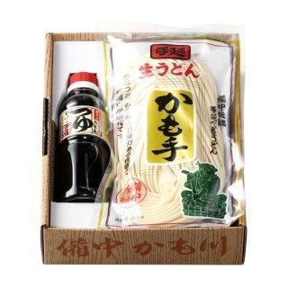 手延べ生うどん「麺つゆ付」 300g×3袋 麺つゆ300ml×1(冷蔵便)