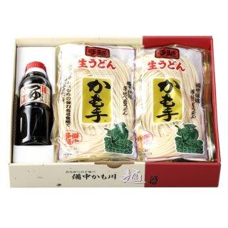 手延べ生うどん「麺つゆ付」 300g×7袋 麺つゆ300ml×1(冷蔵便)