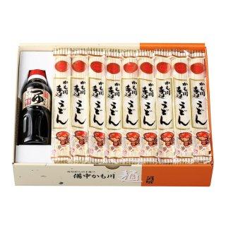 手延うどん「麺つゆ付き」 200g×18袋 麺つゆ300ml×1