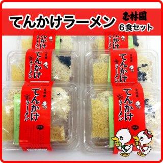 てんかけラーメン 6食セット!和歌山市周辺の和歌山県民が愛するソウルフード♪ 玉林園(和歌山市)