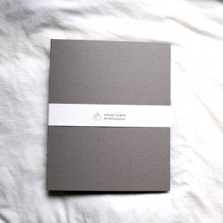 富士フイルム(FUJIFILM)ハーフサイズプリント用ポケットアルバムA4/270枚収納/ダスティグレーHSP-270AL-GR