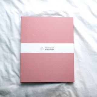 富士フイルム(FUJIFILM)ハーフサイズプリント用ポケットアルバムA4/270枚収納/ベビーピンクHSP-270AL-PK