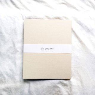 富士フイルム(FUJIFILM)ハーフサイズプリント用ポケットアルバムA4/270枚収納/ホワイトベージュHSP-270AL-WH