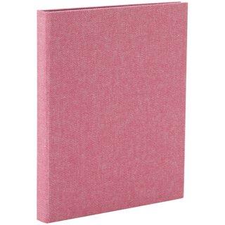 ナカバヤシcotto.(コット)黒台紙フォトアルバム(ハーフサイズ80枚収納)ピンク A-COPLH-800-P