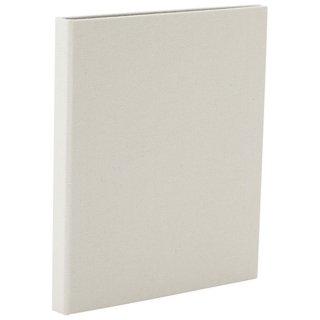 ナカバヤシcotto.(コット)黒台紙フォトアルバム(ハーフサイズ80枚収納)ホワイト A-COPLH-800-W