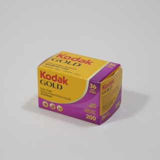 【35mmカラーネガフィルム】Kodak(コダック)GOLDゴールド/ISO200/36枚撮
