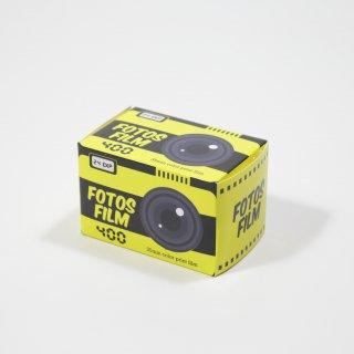 【35mmカラーネガフィルム】FOTOS FILMフォトスフィルム/ISO400/24枚撮