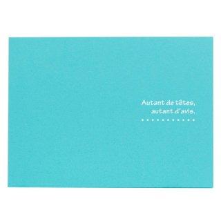 ハクバ(HAKUBA)写真台紙 ランス ドゥ(2Lサイズ2面/ヨコ)ブルー MRCDO-2LY2BL