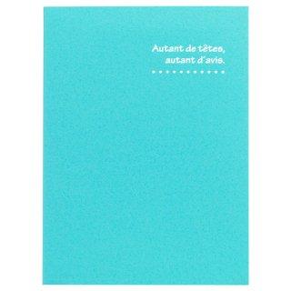 ハクバ(HAKUBA)写真台紙 ランス ドゥ(2Lサイズ2面/タテ)ブルー MRCDO-2LT2BL