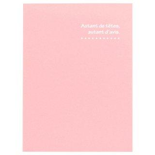 ハクバ(HAKUBA)写真台紙 ランス ドゥ(2Lサイズ2面/タテ)ピンク MRCDO-2LT2PK